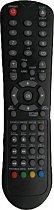Original remote control for Technika LCD 15,6-600 DVD for model with built-in DVD